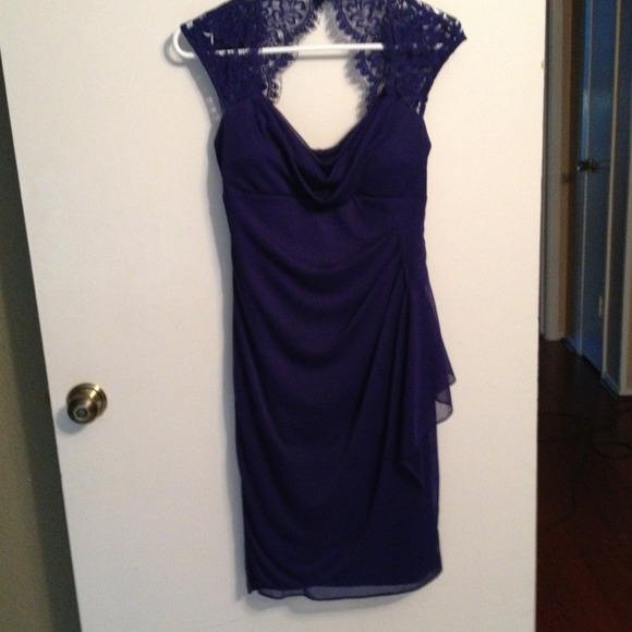 87% off xscape Dresses &amp Skirts - Royal blue dress from Heather&39s ...