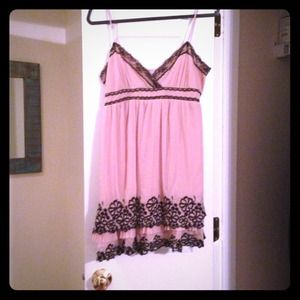 Romeo and Juliet Couture Pink and Black dress