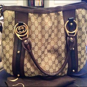 Authentic Gucci hobo handbag
