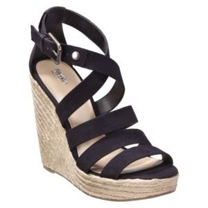 mossimo Shoes - MOSSIMO Black Wedges