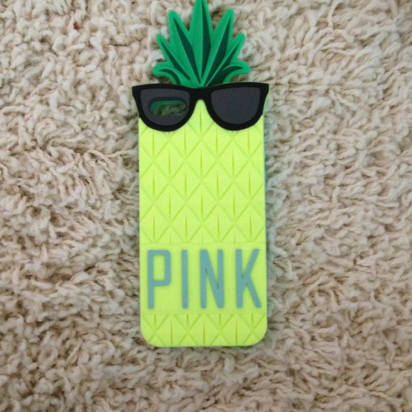 new concept f863a 501a2 PINK Pineapple IPhone 5 Case NWT