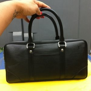 Authentic Louis Vuitton Classic Black Epi