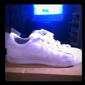 Shoes - All white nikes