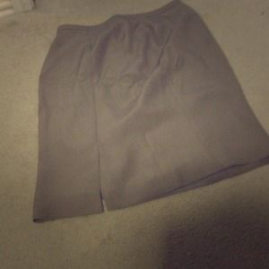 Armani Collezioni silk and acetate pencil skirt