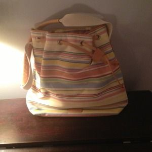 Ralph Lauren Striped Shoulder Bag