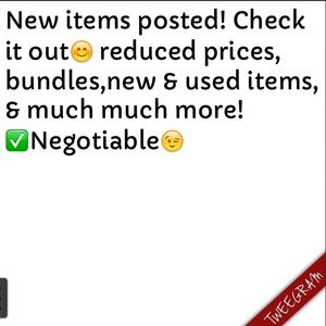New Items Posted
