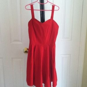 ASOS Dresses - ✂REDUCED✂ASOS skater hot red dress