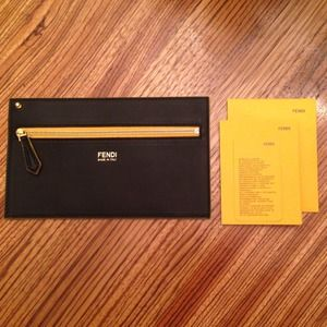 FENDI Clutches & Wallets - Fendi wallet / pouch / envelope clutch