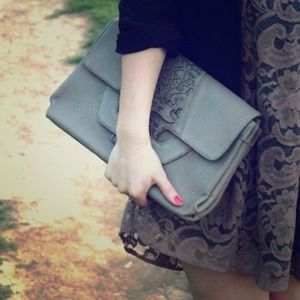 Handbags - Laser cut purse /clutch