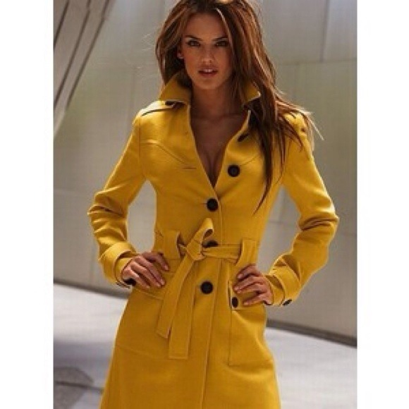 38 Off Jackets Amp Blazers Yellow Trench Coat🚫no Trades🚫 From Margaret S Closet On Poshmark