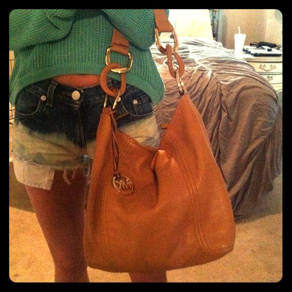 🌀REDUCED Michael Kors camel leather hobo purse. M 51acfd21d16c8b6144003564 cc008fbb39