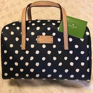 kate spade Handbags - KATE SPADE POLKA DOT SATCHEL