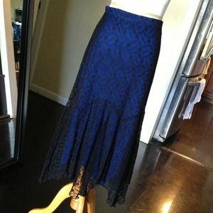 🔴SOLD🔴 Beautiful Vintage Style Blue Skirt