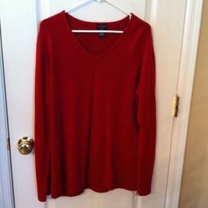 Sweaters - Red Plus size 2X sweater