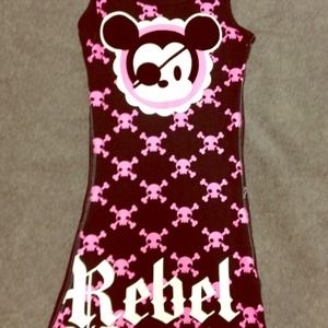 Disney Mickey Mouse Rebel Tank xs Disneyland