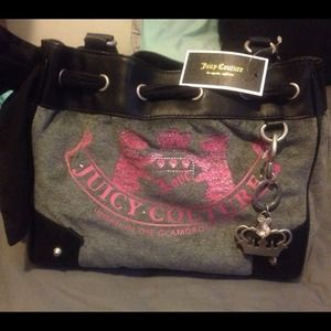 Large Juicy couture daydream purse 100% authentic