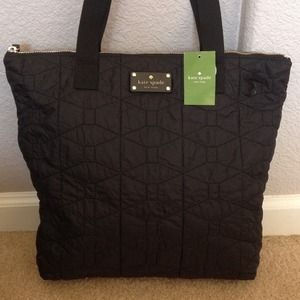 RESERVED♠Kate Spade Bon Shopper Quilted Tote♠