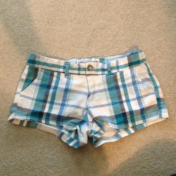 Aeropostale - Girls/Juniors Aeropostale plaid shorts size 00 from ...