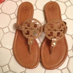 669ee15788b242 Tory Burch Shoes - SOLD ON EBAY TORY BURCH NUDE MILLER SANDAL