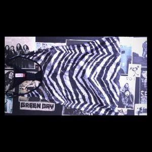 Tops - Zebra sequined razor back tank top