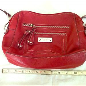 Host pick!! Tignanello saucy red leather bag!