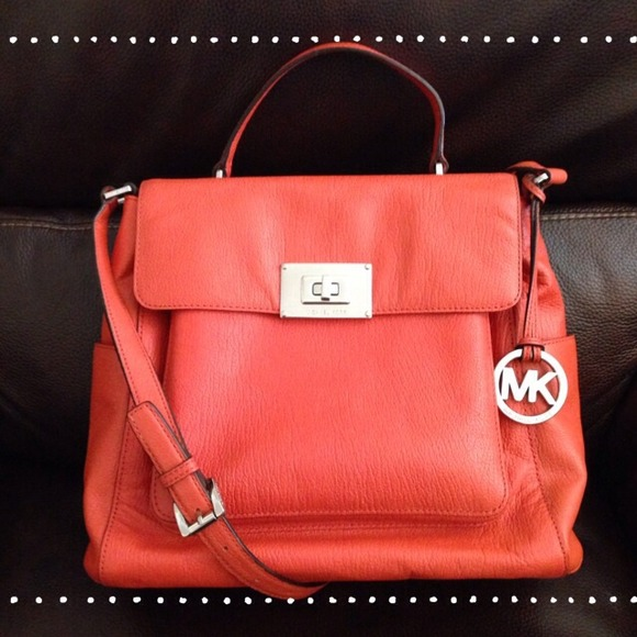 MICHAEL Michael Kors Handbags - ❌UNAVAILABLE❌ 🎉4X HP🎉 MK Sloan in Persimmon