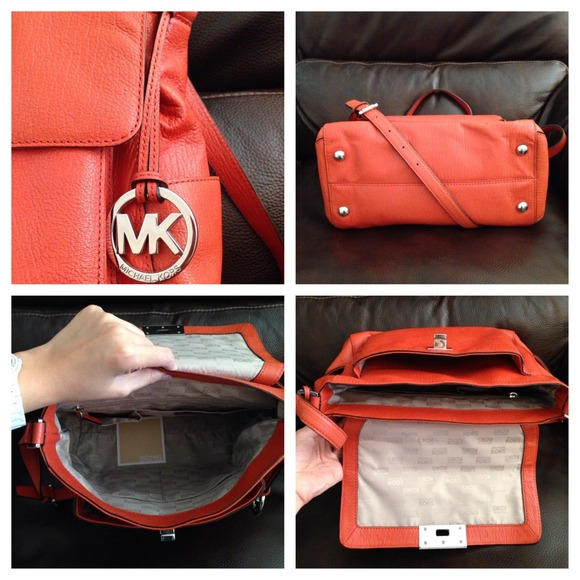 MICHAEL Michael Kors Handbags - ❌UNAVAILABLE❌ 🎉4X HP🎉 MK Sloan in Persimmon 2