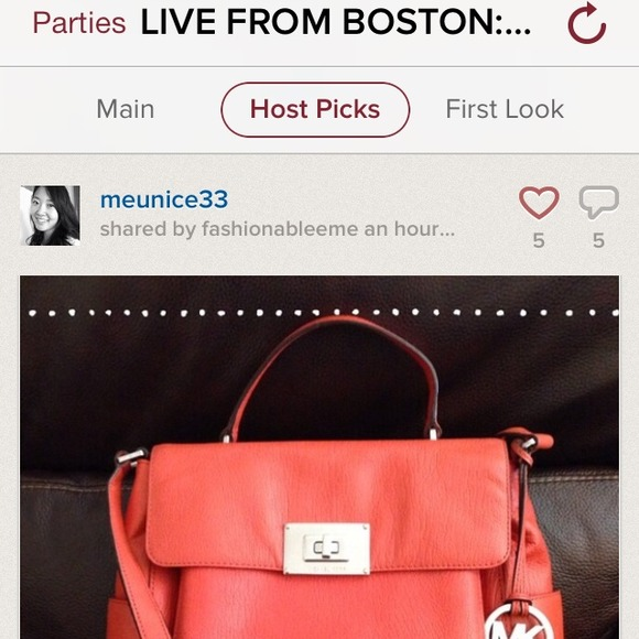 MICHAEL Michael Kors Handbags - ❌UNAVAILABLE❌ 🎉4X HP🎉 MK Sloan in Persimmon 4