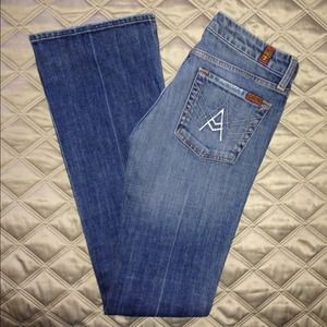 "💕💗NWOT〰7 For All Mankind ""A"" Pocket Denim💗💕"