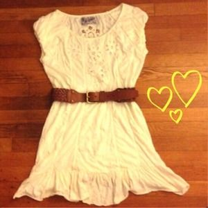 ✨Zara cream lace dress