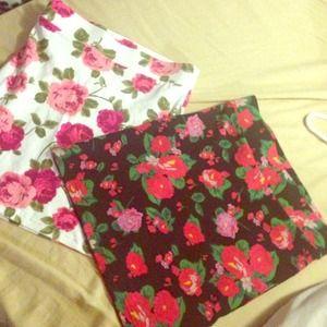 Nice flower summer skirt
