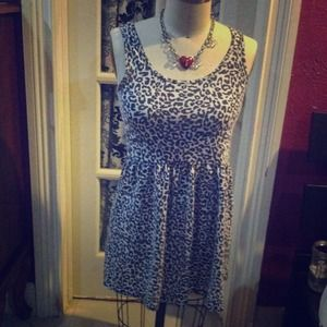 Cheetah Print Dress BUNDLE