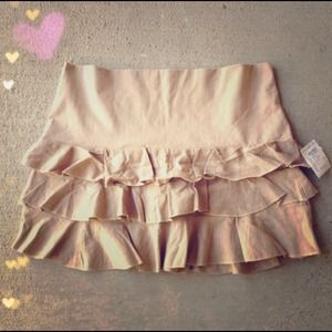 NEW Charlotte Russe Pleated Skirt!