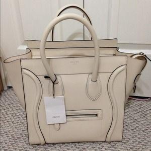 4% off C��LINE Handbags - **SOLD**Mint! Auth red Celine mini ...