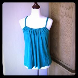 Emerald green Velvet top
