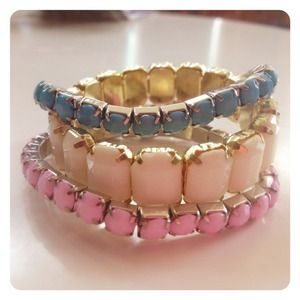 HALF OFF SALE | Pastel Gemstone Bracelets