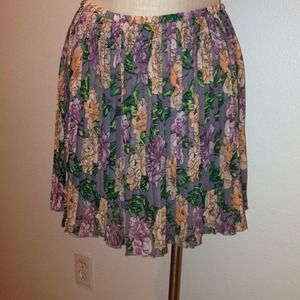 Frenchi floral skirt