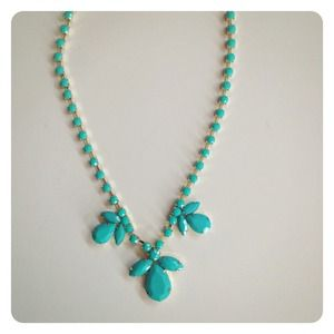 Jewelry - RESERVED | Teal Statement Necklace