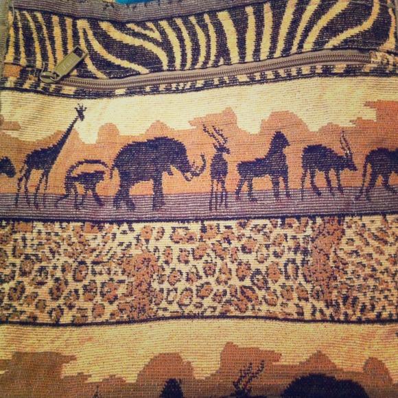 a28975923 Jade Bags   African Safari Themed Tote Bag   Poshmark