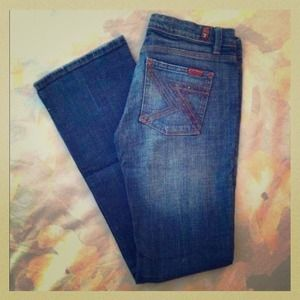 ⚡Reduced⚡7 for all mankind jeans!! Flynt bootcut