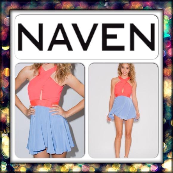 c93853c5dd  151 NAVEN Criss Cross Vixen Dress
