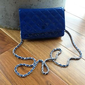 KEEPING    Chanel WOC in Royal Blue 2013