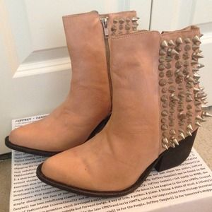  Jeffrey Campbell Spike Ankle Boots 