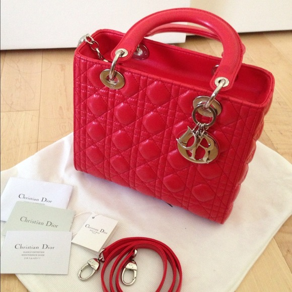 5fce87560cad9  Reserve For jane121027  lady dior red bag