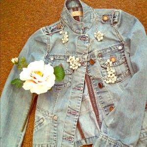Zara denim spring jacket
