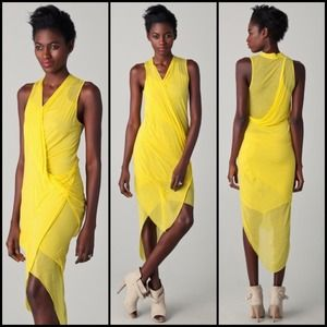 Helmut Lang Dresses & Skirts - THIS amazing dress.