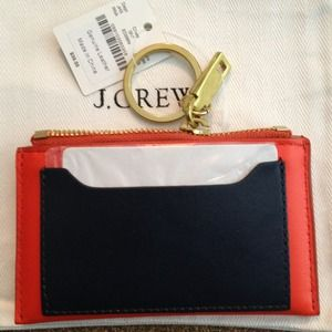 J Crew Leather Coin Purse 💚