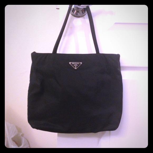 0976939a46b Prada Bags   Authentic Nylon Handbag Vintage   Poshmark