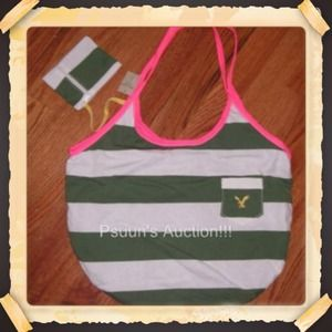 American Eagle Outfitters AEO hobo beach bag nwt