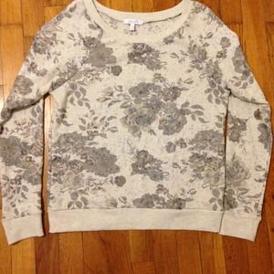 ❌✔ TRADED! Floral sweater